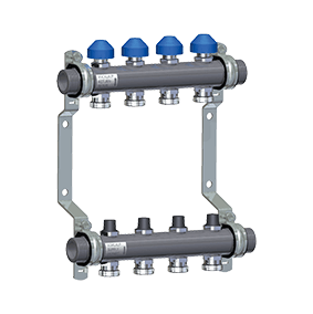 Manifold HKV2010-VA Stainless Steel for Underfloor Heating
