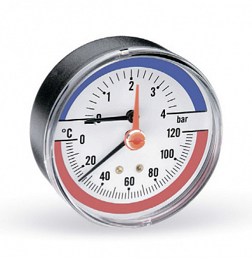Combined thermometer pressure gauge F+R818 (TMAP)