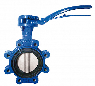Sylax Lug Type  Butterfly Valve Cast Iron (Dn50-15) or Ductile Iron (DN200-300) All come with 316 stainless steel disc EPDM Liner