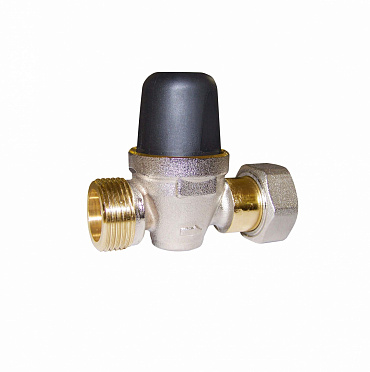 Compact adjustable pressure reducing valve REDUBAR