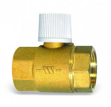 Check valve RDF with manual stop