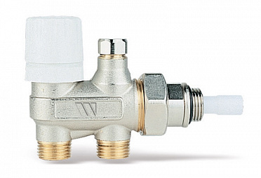4-way nickel-plated valve 120B