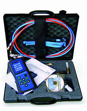 Set BVT-SET. Balancing instrument for measuring and recording of differential pressure