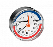 Pressure gauges and thermometers