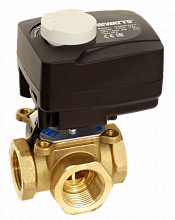 Four-way sector mixing valve V4GB with actuator WATTS CLASSIC
