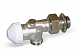 Nickel-plated thermostatic valve 1134M