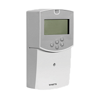 Weather-dependent and remote heating control