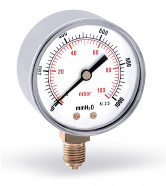 Pressure gauge for gas applications F+R260 (MRSC)