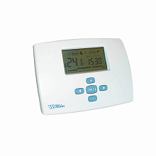 Programmable electronic room thermostat MILUX