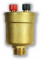 Automatic and manual air vent valve DUOVENT