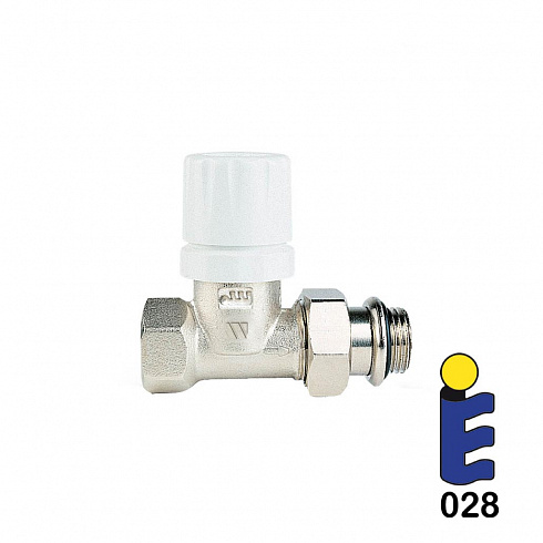 Nickel-plated thermostatic valve 179UM