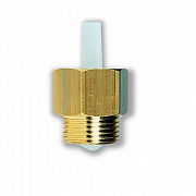 Automatic shut-off valve RIA for automatic air vent valves series INT, DUO