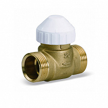Two-way brass valve 2131 for fan-coils