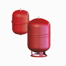 Diaphragm type expansion vessel ERE CE