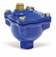 Automatic high capacity deaerator provided with manual air vent valve MAXIVENT series