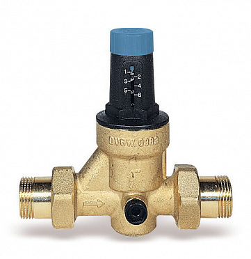 Diaphragm pressure reducing valve DRVN