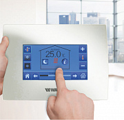 Watts Vision® system Сentral unit BT-CT02-RF, capacitive touch screen